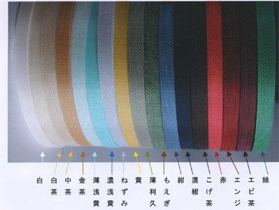 染斜子テープ